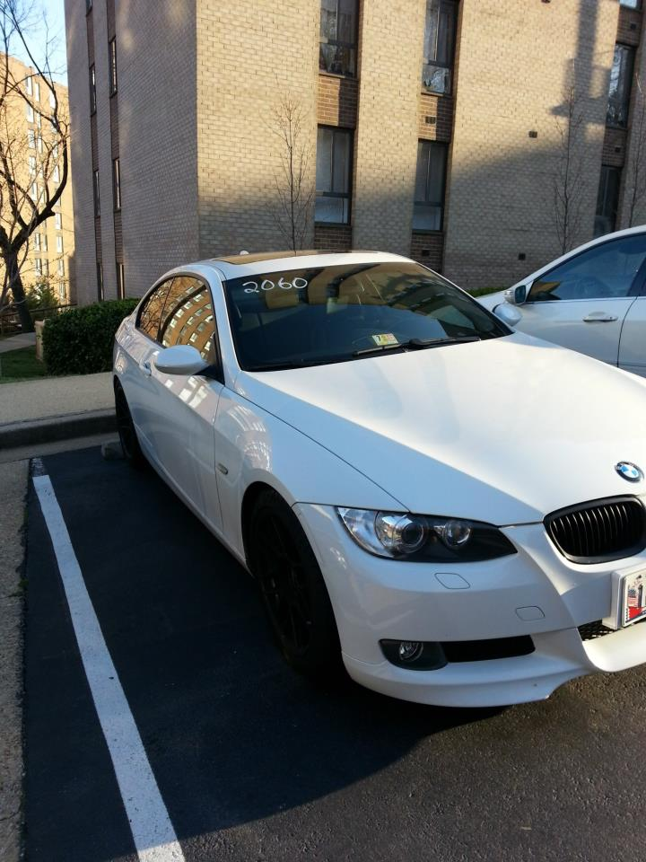 Alpine White 2008 BMW 335i E92