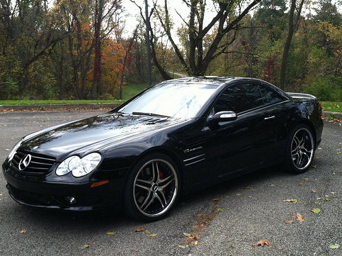 Stock 2004 Mercedes Benz Sl55 Amg 1 4 Mile Drag Racing
