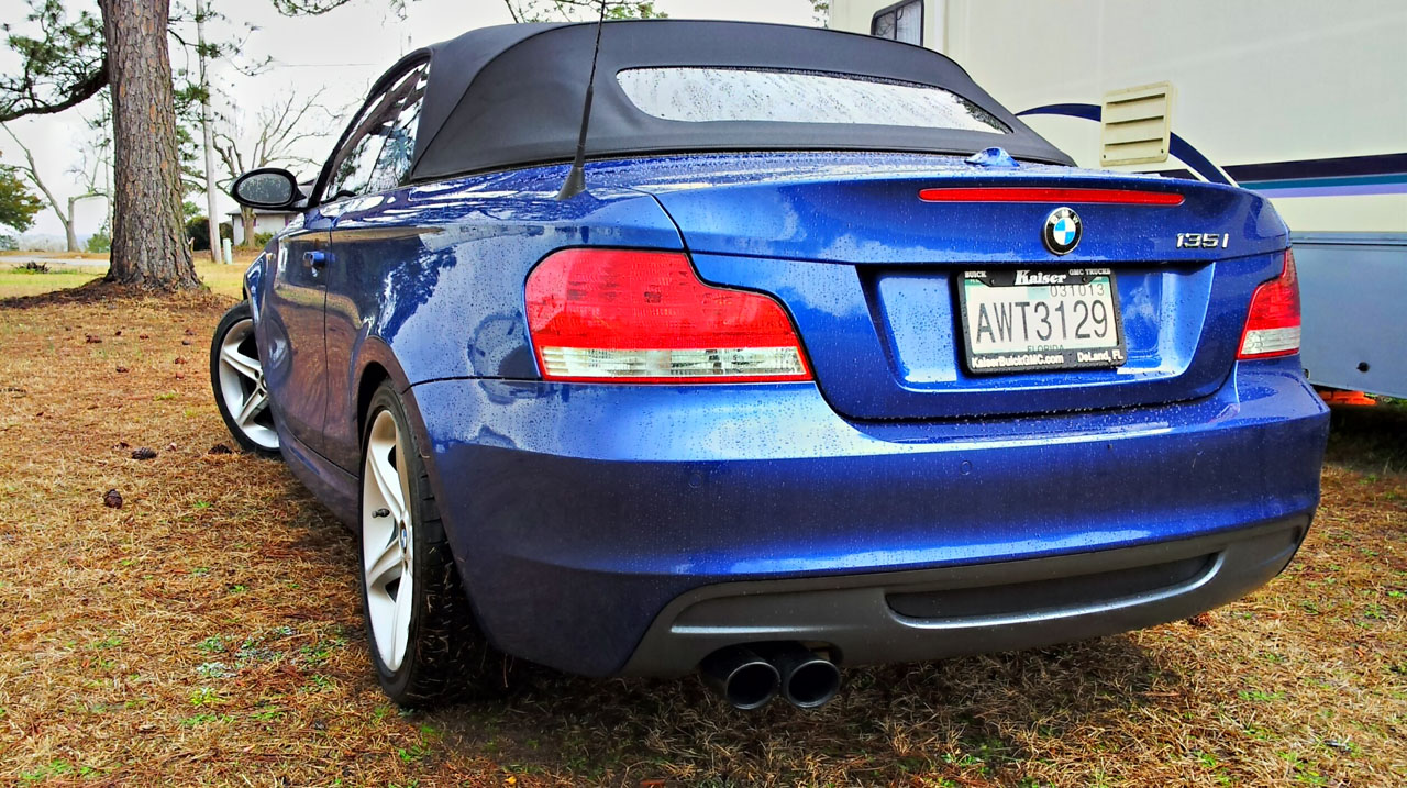 Montego Blue 2008 BMW 135i Convt AT JB4 w/E85 mix only