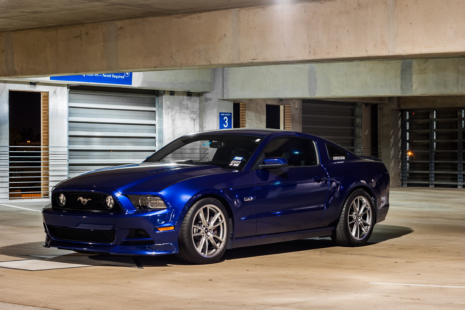 2013 Deep Impact Blue Ford Mustang Gt Pictures Mods