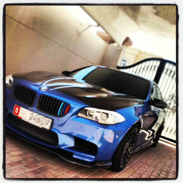 2013 Monte Carlo Blue BMW M5 F10 PP-Performance  picture, mods, upgrades