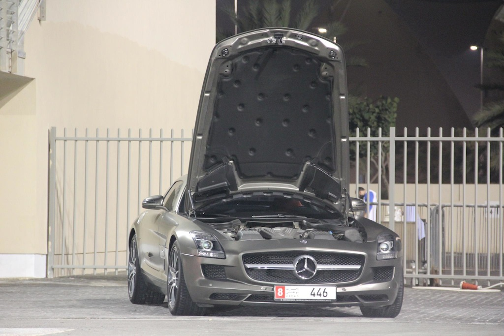 Magno Monza Grey 2011 Mercedes-Benz SLS AMG PP-Performance