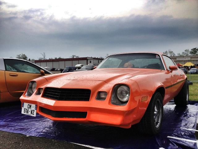 Orange 1979 Chevrolet Camaro Sport Coupe