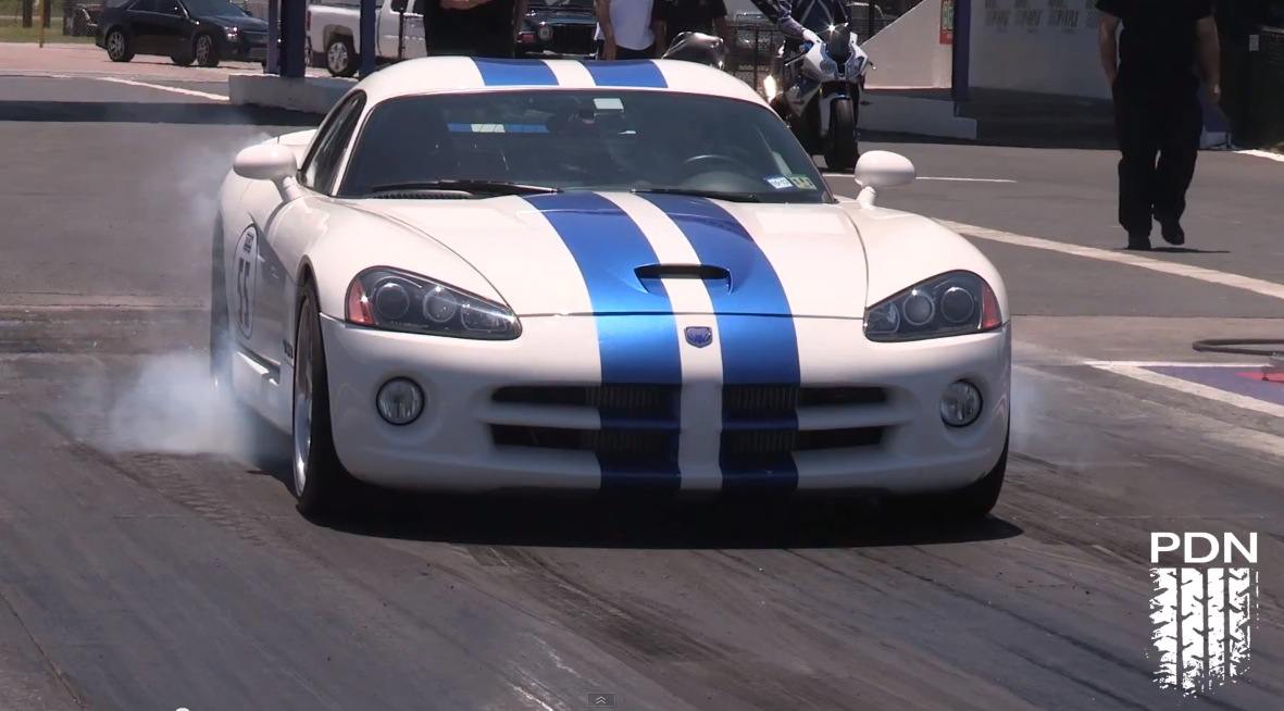2006 White with Blue Stripes Dodge Viper RSI Twin Turbo picture, mods, upgrades