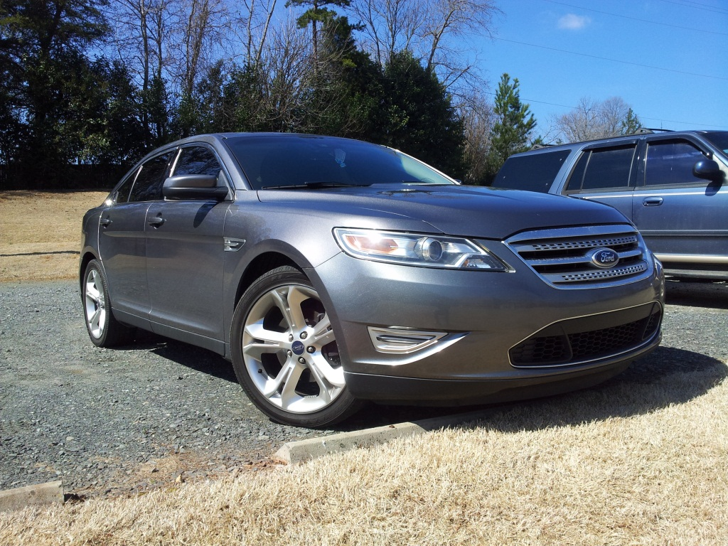 Dark Grey 2011 Ford Taurus SHO