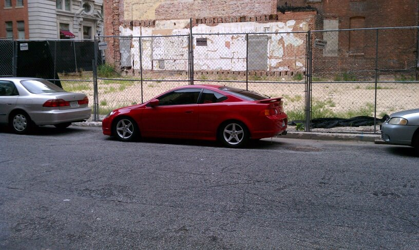 Milano Red 2004 Acura RSX Type S