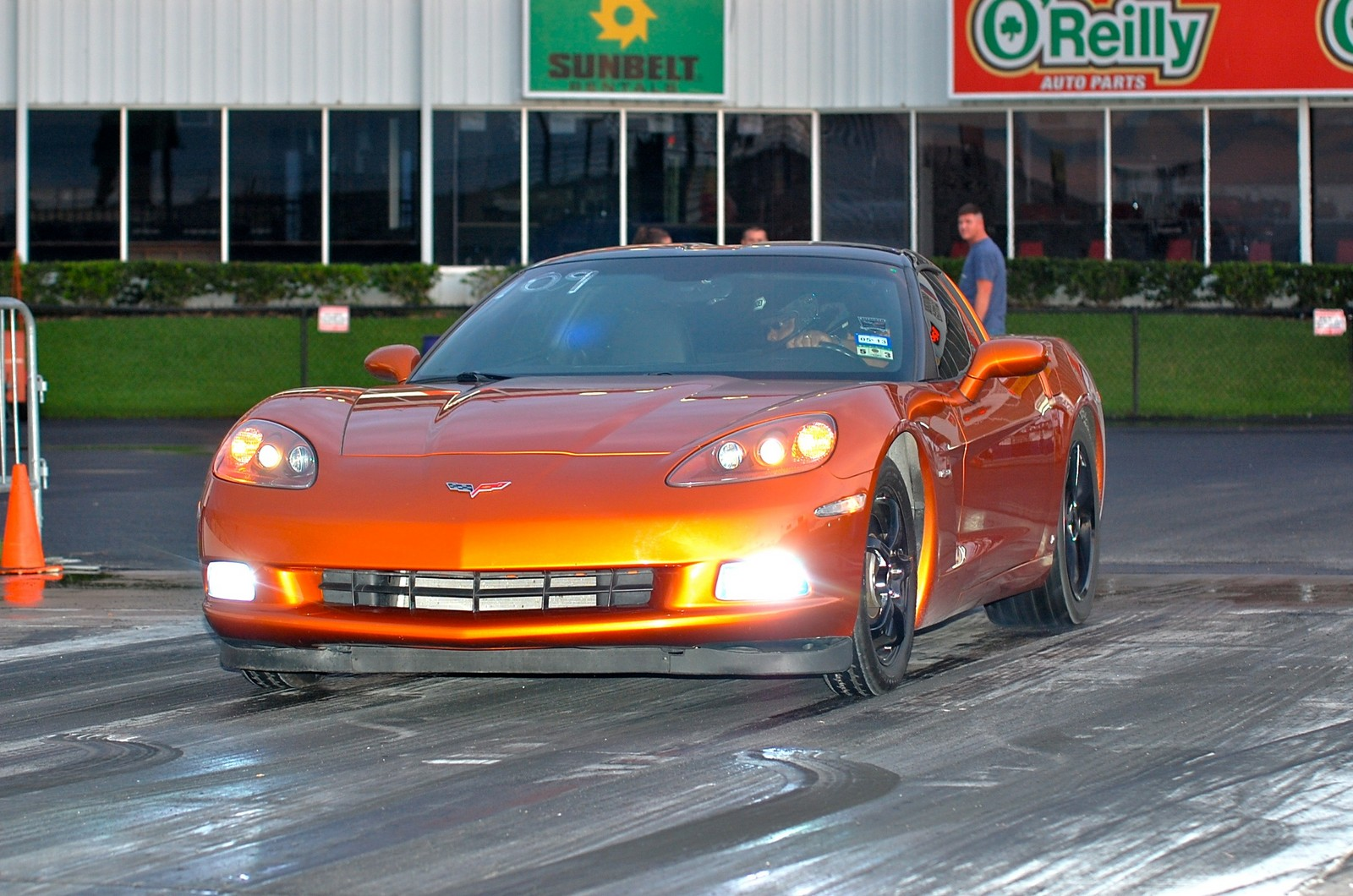 ATOMIC ORANGE 2008 Chevrolet Corvette LS3