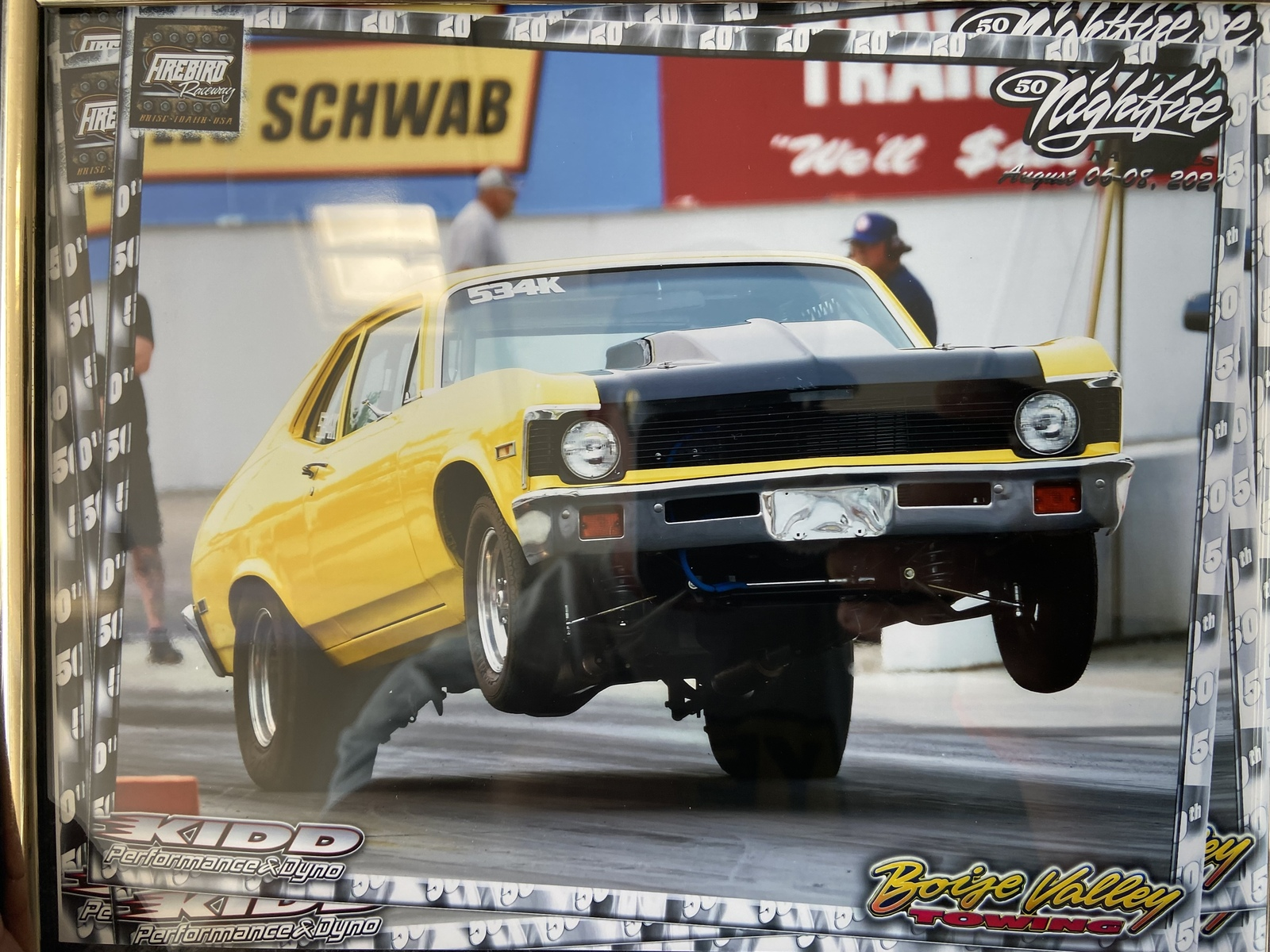 1972 Yellow Chevrolet Nova  picture, mods, upgrades