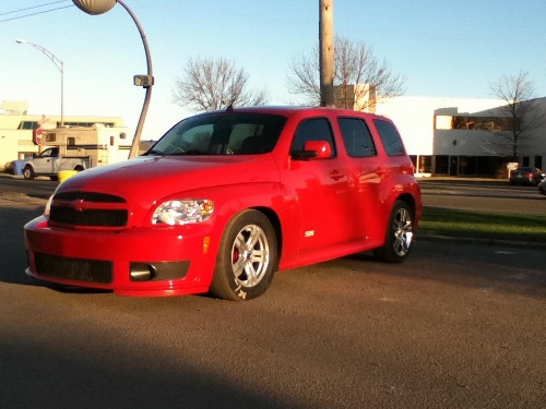 red 2010 Chevrolet HHR SS EFR 6758 Turbo