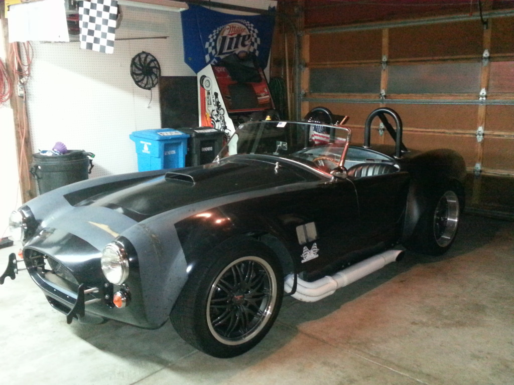 1965 black  Factory-Five Mk3 Roadster  picture, mods, upgrades