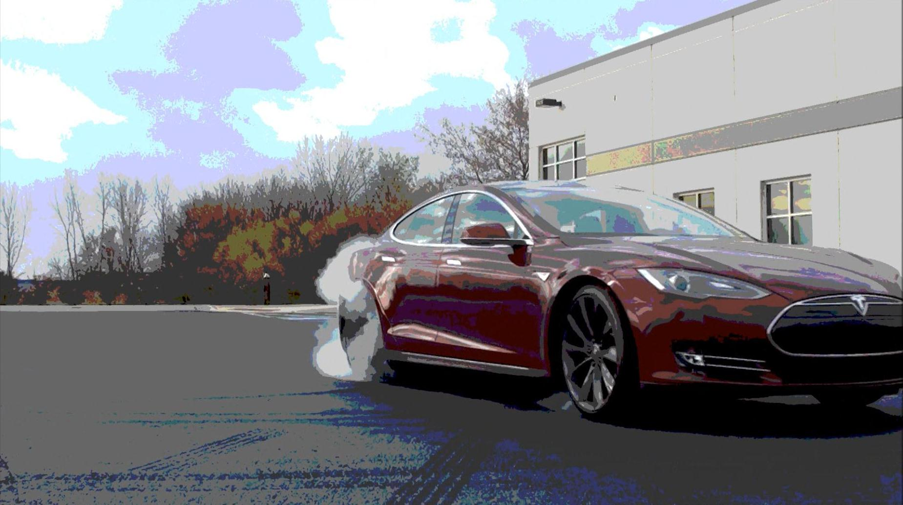 2012 Signature Red Tesla Model S Performance picture, mods, upgrades
