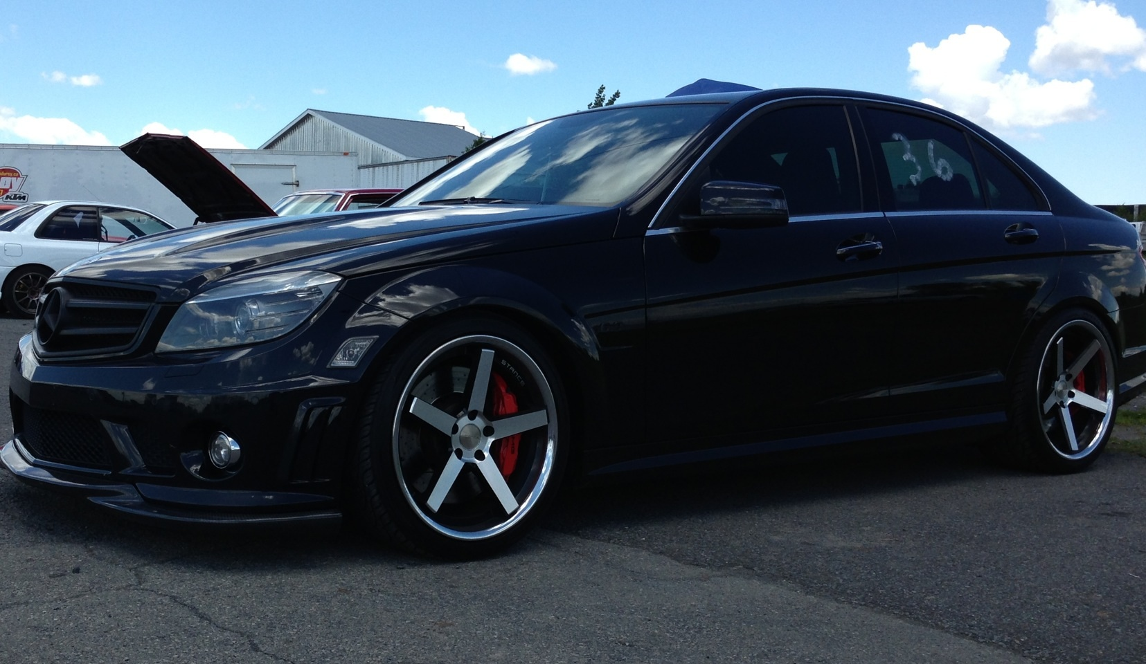 2010 Obsidian black Mercedes-Benz C63 AMG P31 picture, mods, upgrades