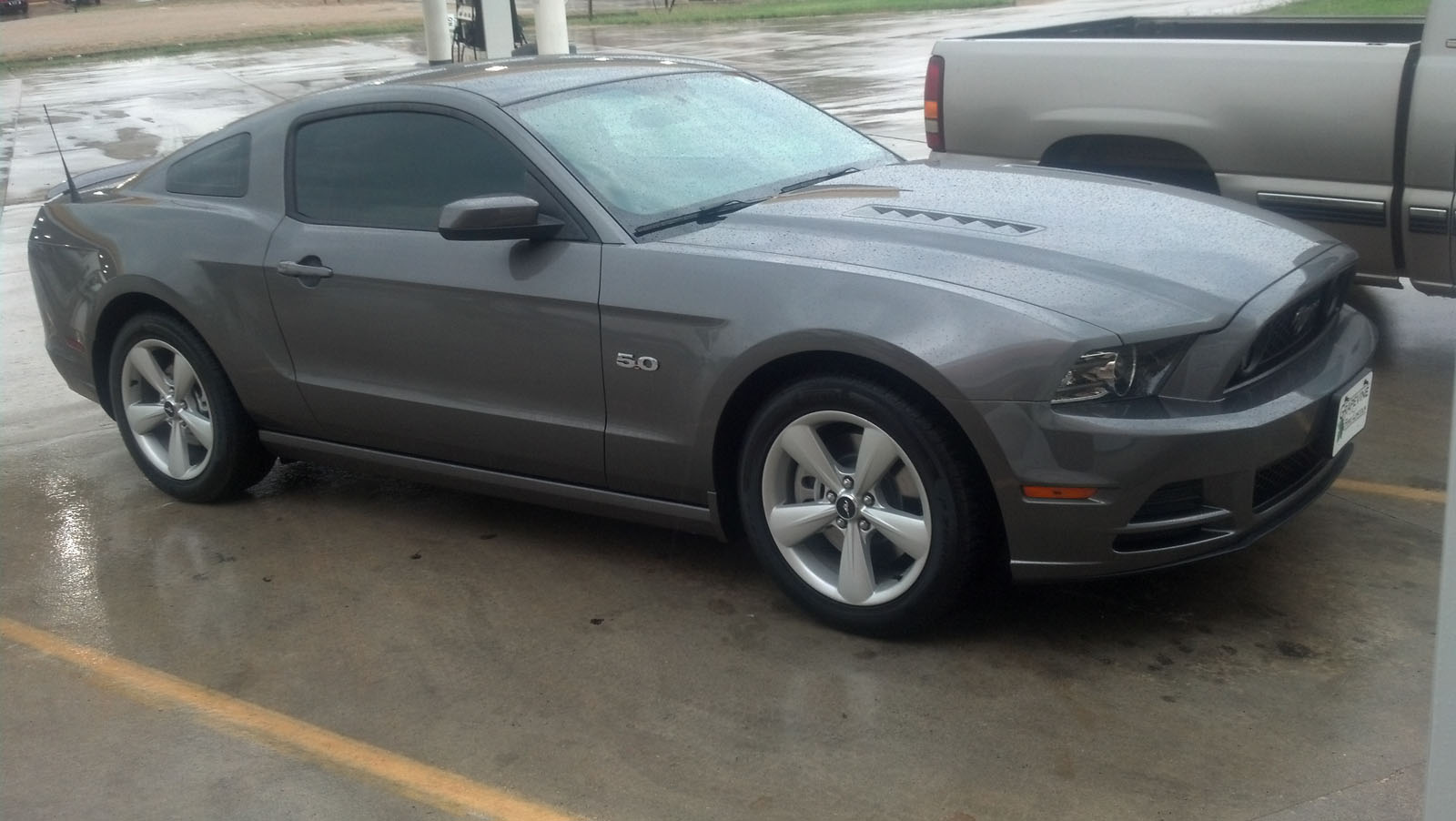 Sterling Gray 2013 Ford Mustang GT