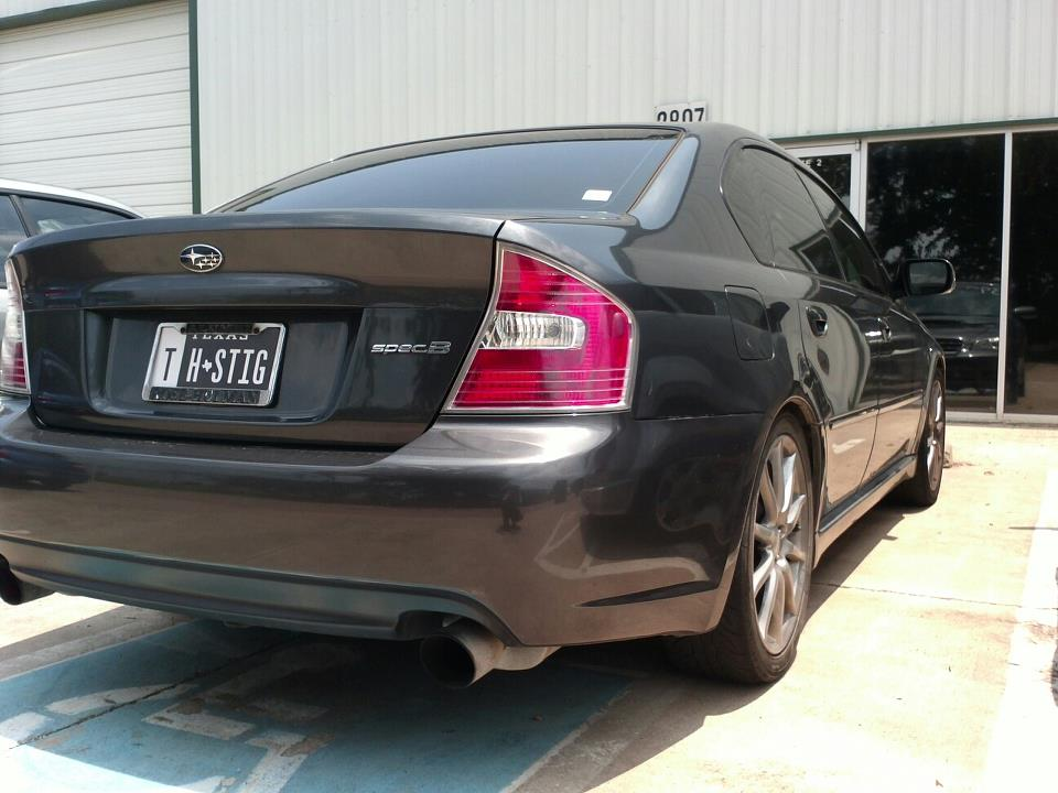 2007  Subaru Legacy 2.5GT Spec.B picture, mods, upgrades