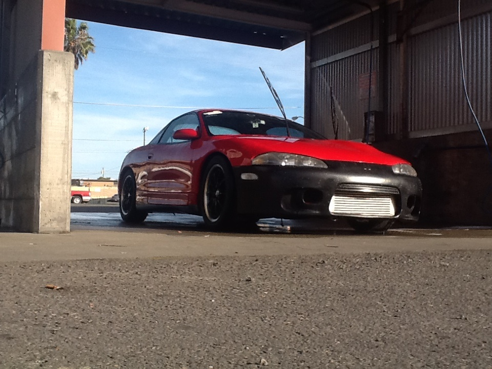 1995 Red Mitsubishi Eclipse GST picture, mods, upgrades