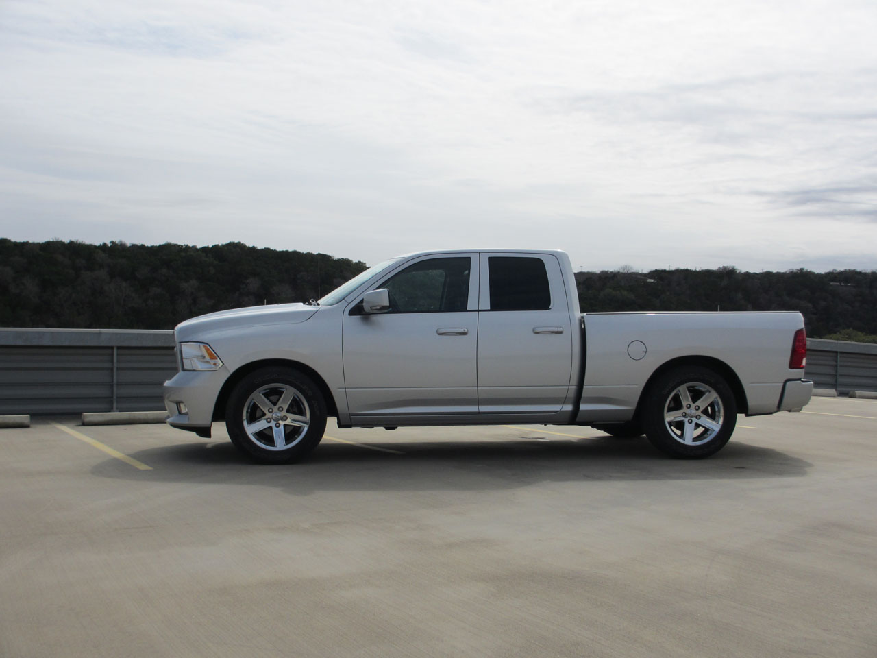 2010 Silver Dodge Ram 1500 QuadCab Sport picture, mods, upgrades
