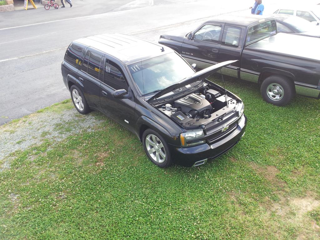Black 2007 Chevrolet TrailBlazer SS