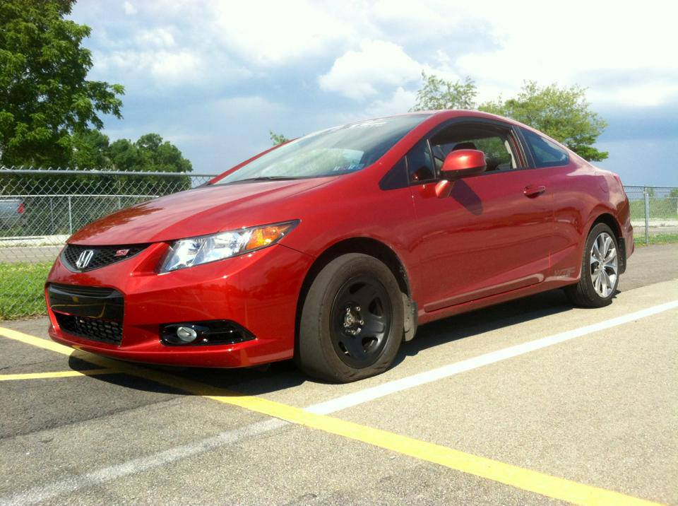 2012 honda civic si 2dr 1 4 mile drag racing timeslip. Black Bedroom Furniture Sets. Home Design Ideas