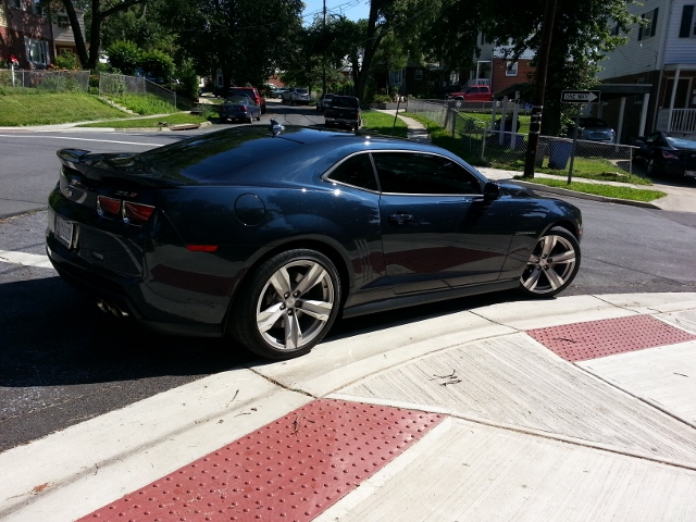 2013 Blue Ray Metallic Chevrolet Camaro ZL1 picture, mods, upgrades