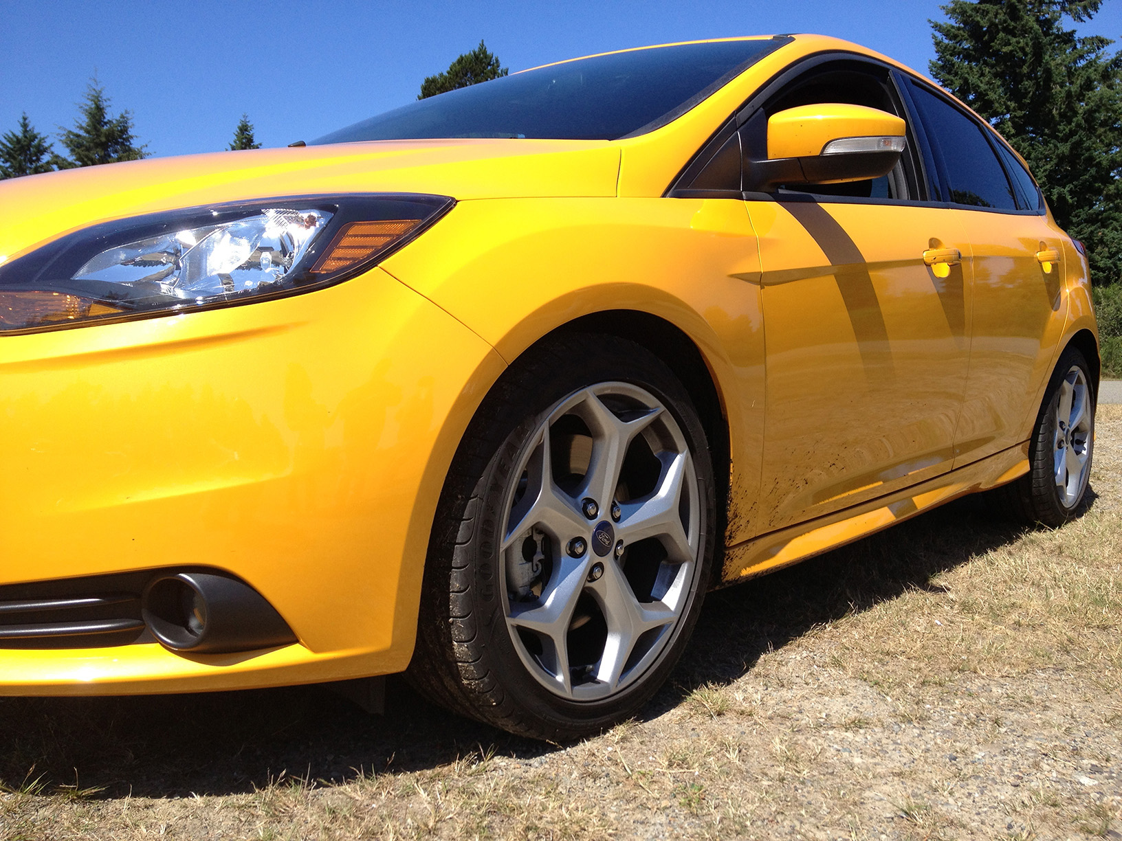 2013 Tangerine Scream Ford Focus ST picture, mods, upgrades