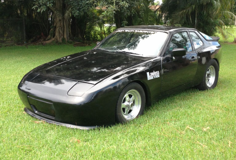 1984 porsche 944 electric 1 4 mile drag racing timeslip. Black Bedroom Furniture Sets. Home Design Ideas