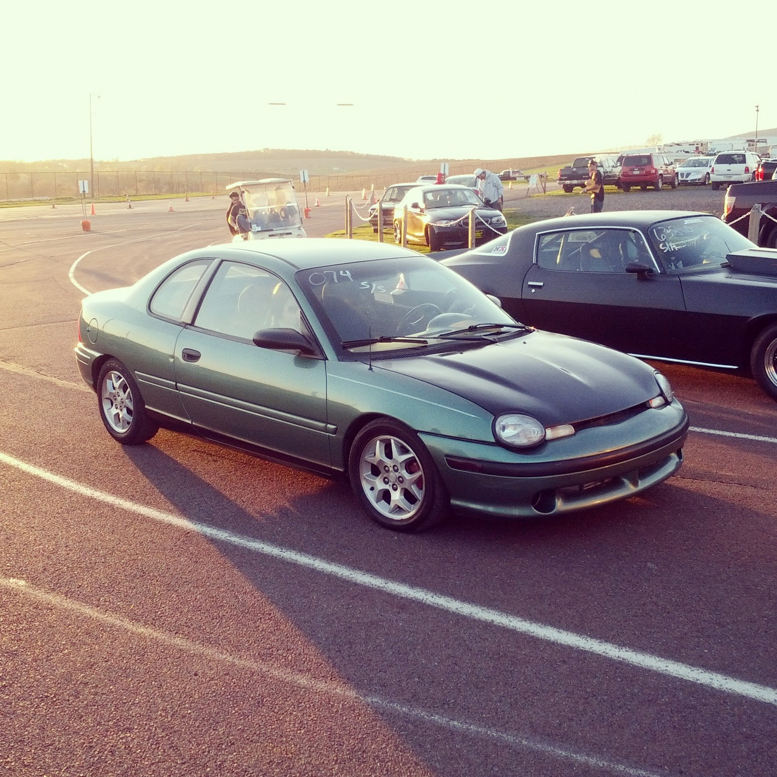 Alpine Green 1998 Dodge Neon