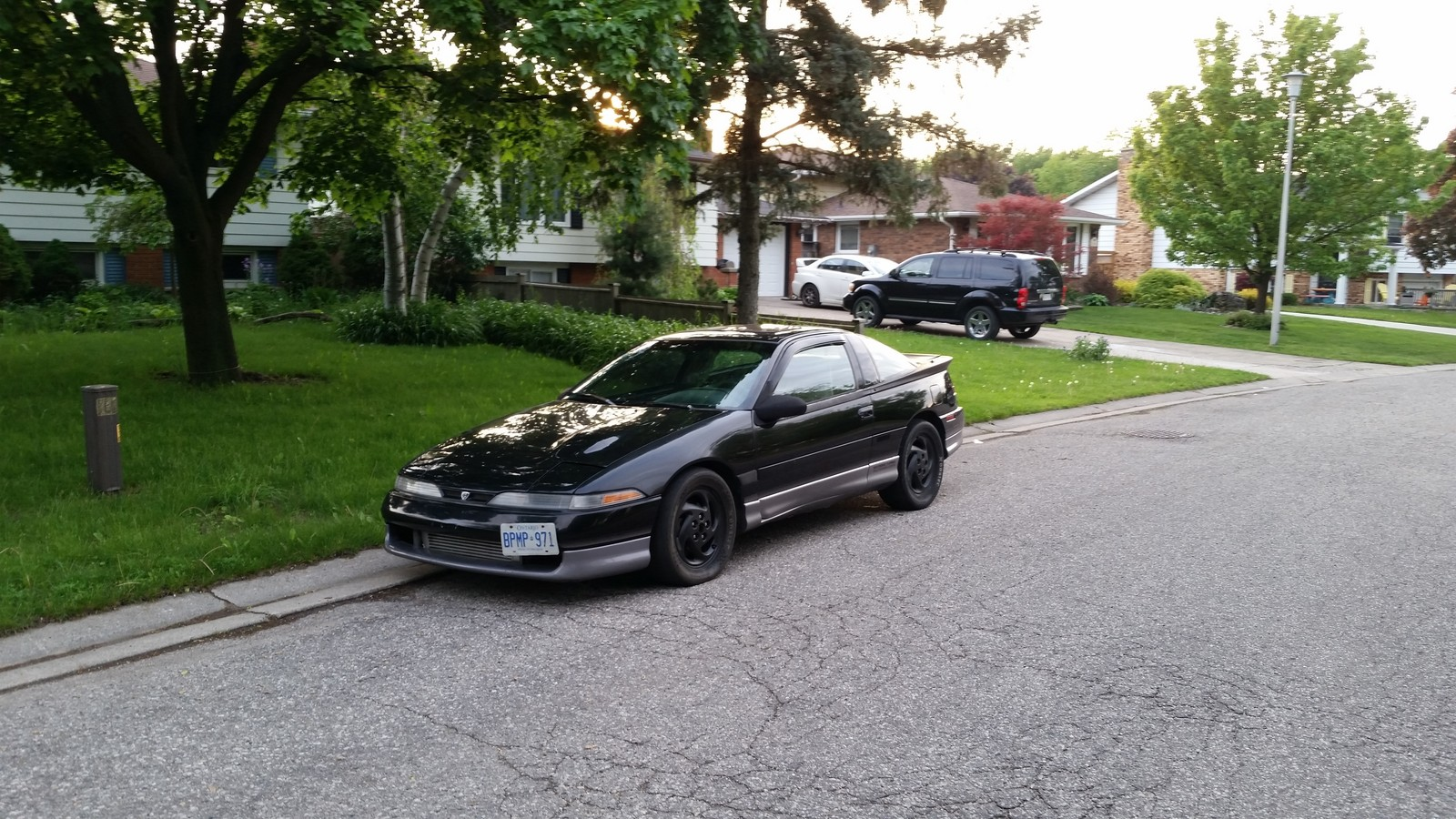 Black  1991 Eagle Talon TSI AWD