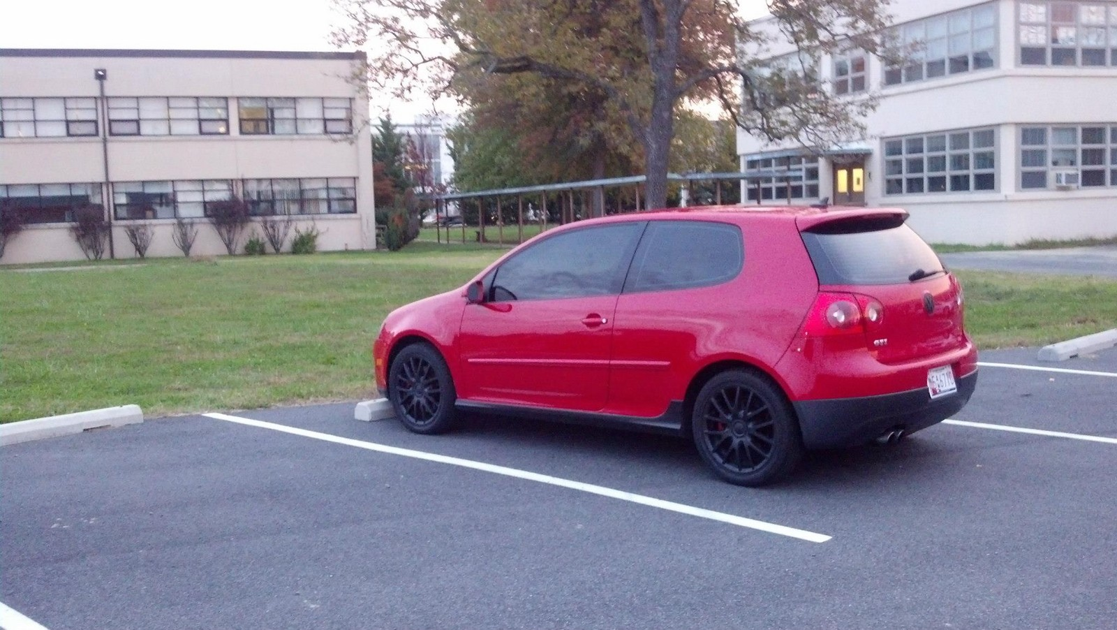 Red 2007 Volkswagen GTI