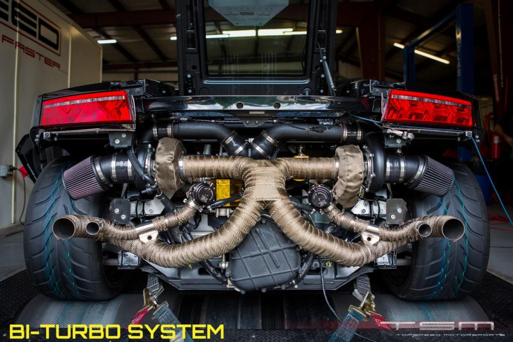 2011 Lamborghini Gallardo TopSpeed Motorsports LP570 14 mile trap