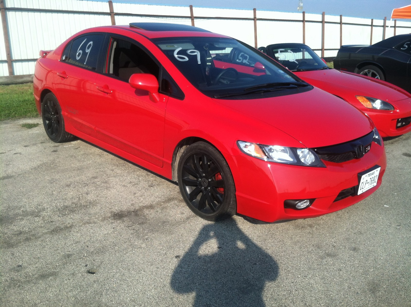 2011 Red Honda Civic Si Picture, Mods, Upgrades