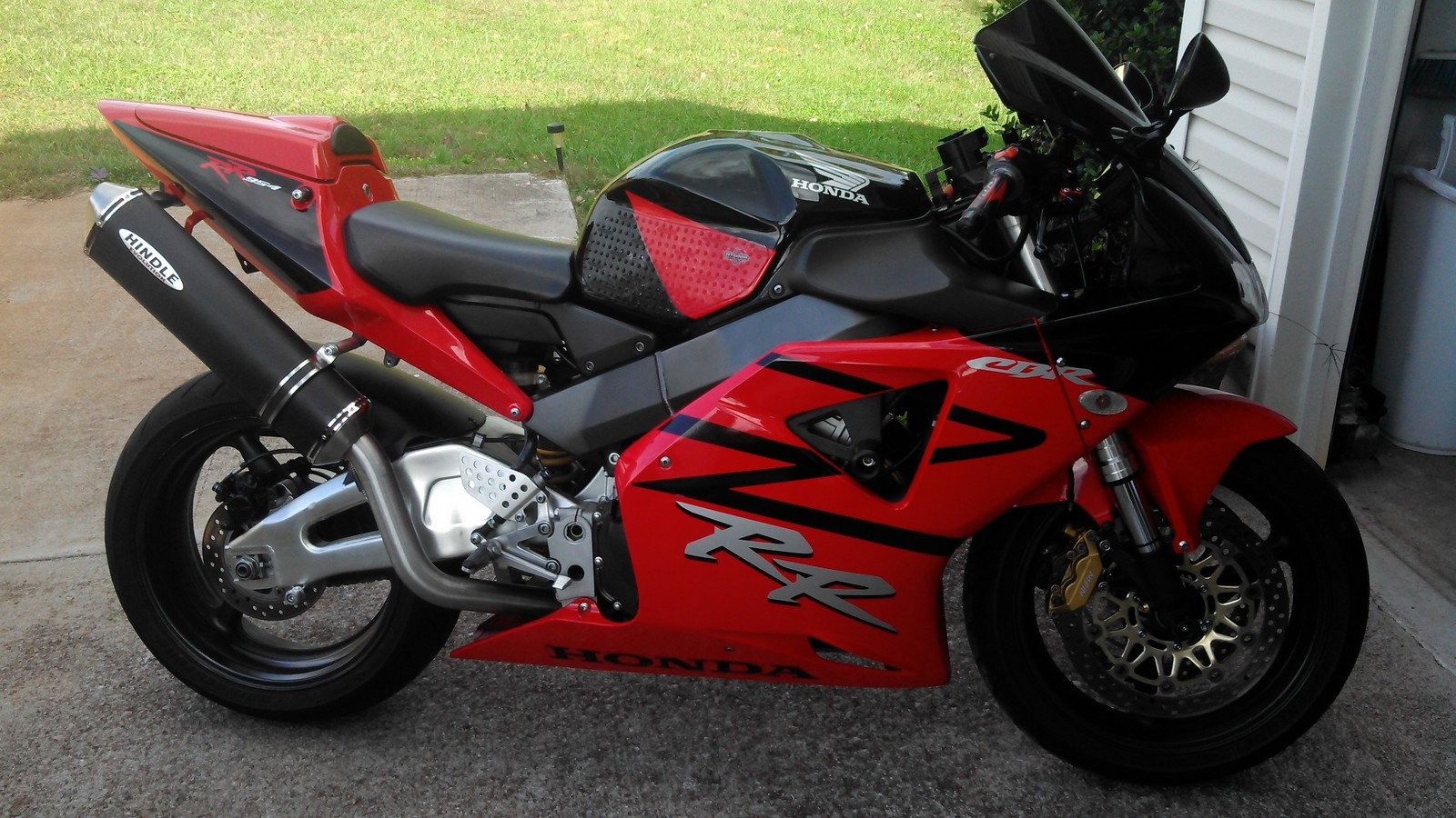 Black/Red 2003 Honda CBR 954RR