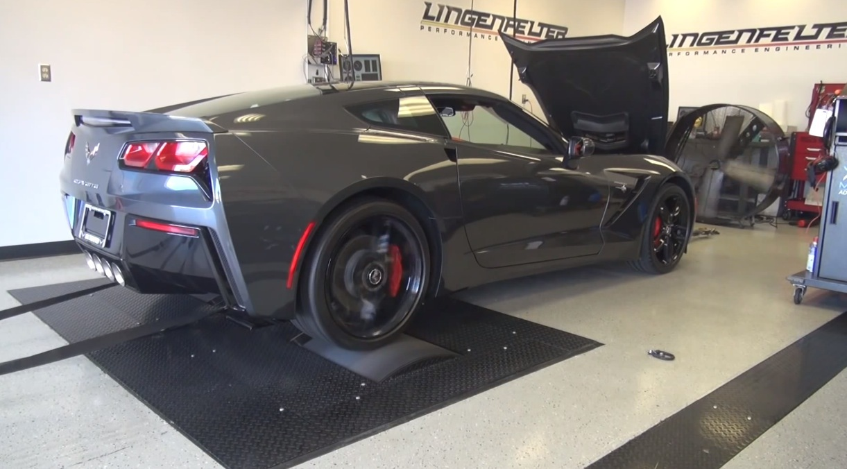 Graphite 2014 Chevrolet Corvette C7 Stingray
