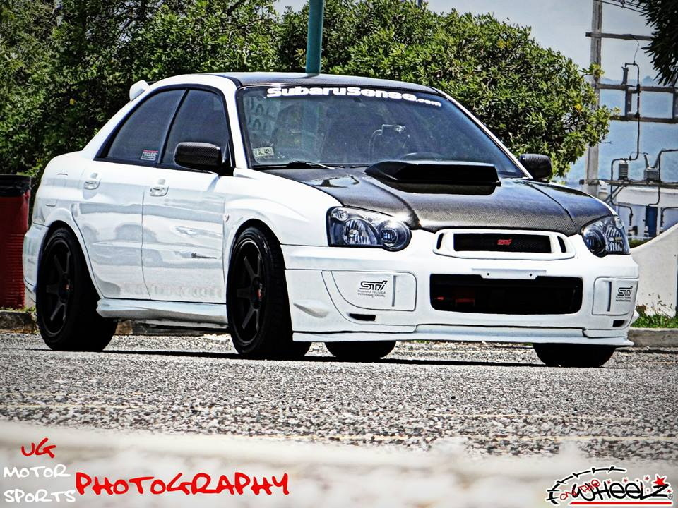 2005 Aspen White Subaru Impreza STi picture, mods, upgrades