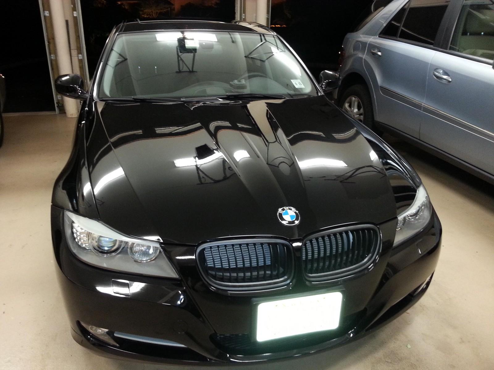 2011 Black BMW 335xi 335i XDrive Mods Upgrades Wallpaper