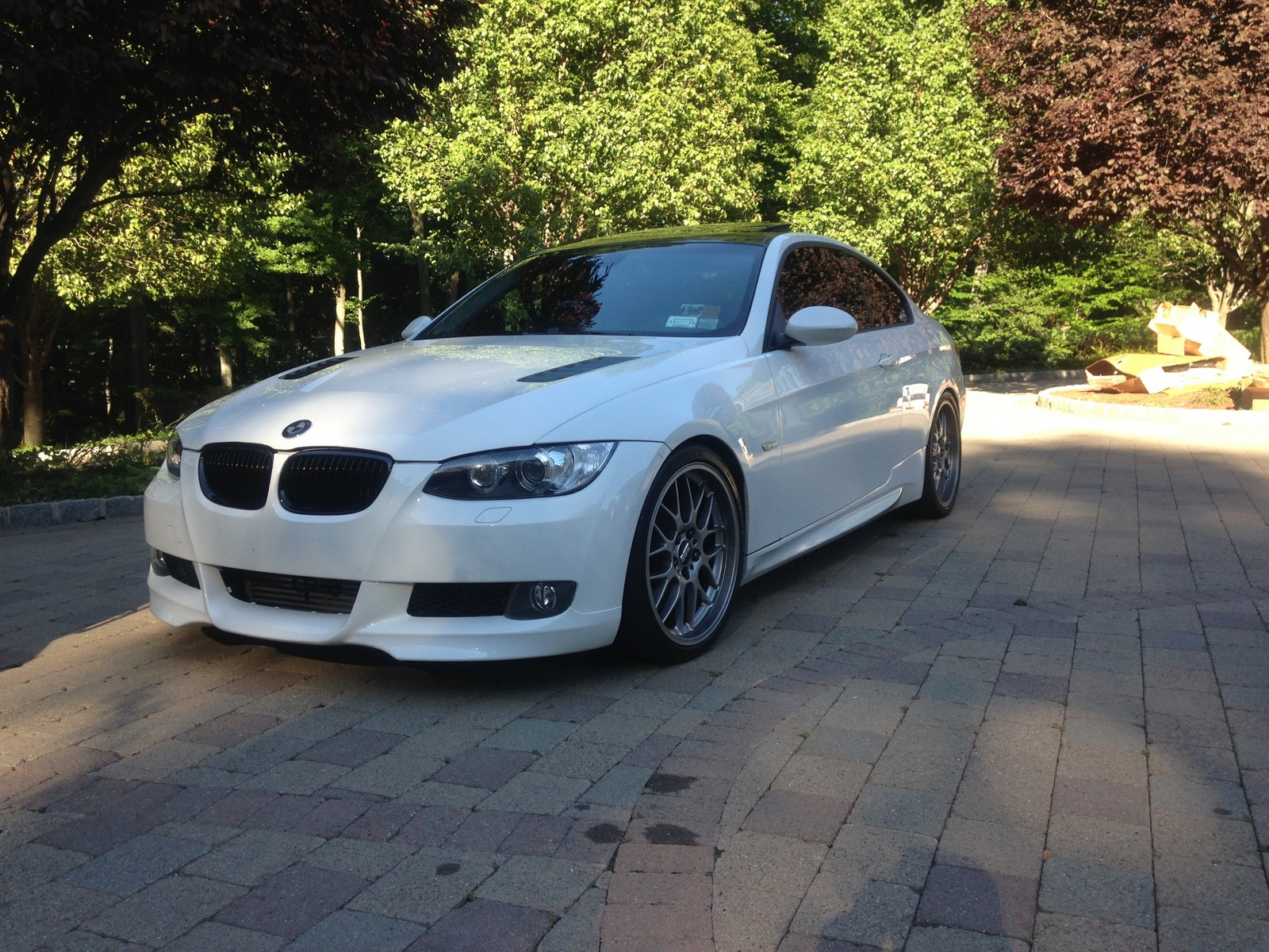2008 Alpine White Bmw 335xi Pictures Mods Upgrades