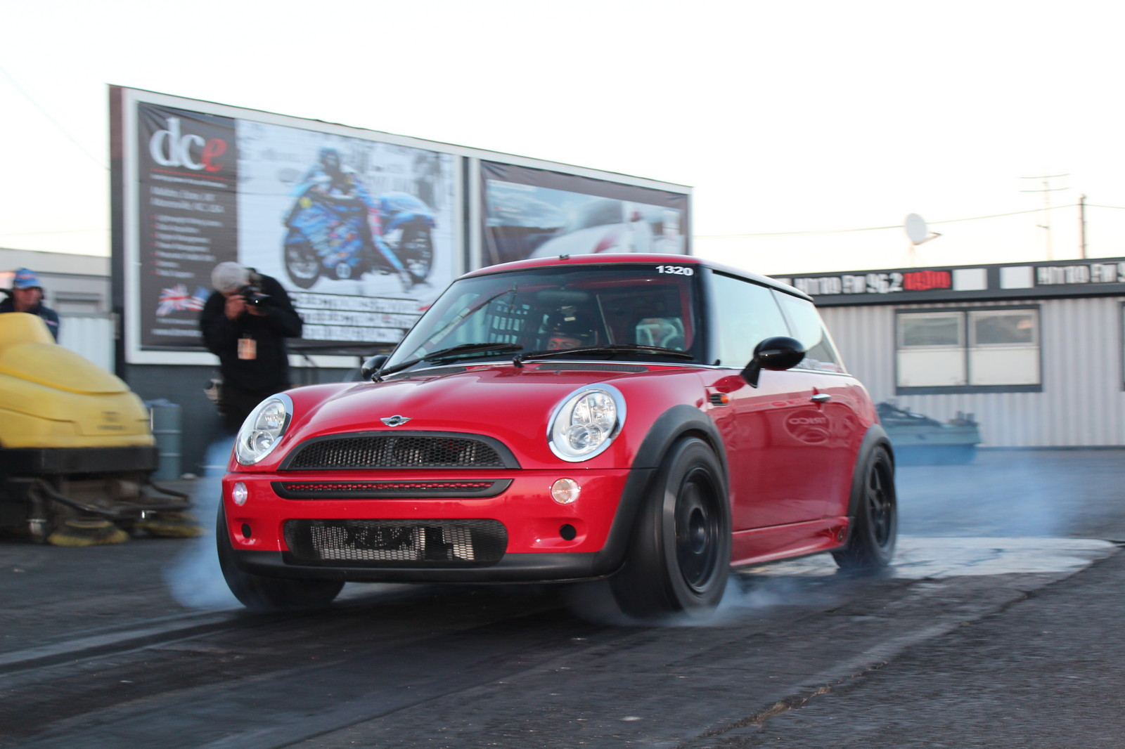 2002 Red Mini Cooper S picture, mods, upgrades