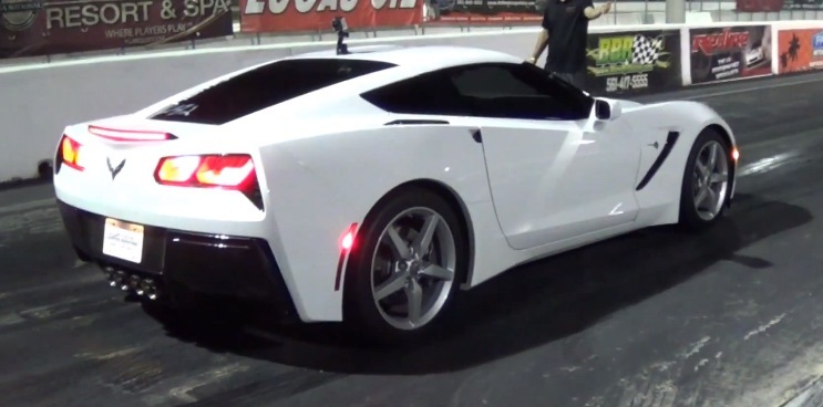 Stock 2014 Chevrolet Corvette C7 Stingray 1 4 Mile Trap