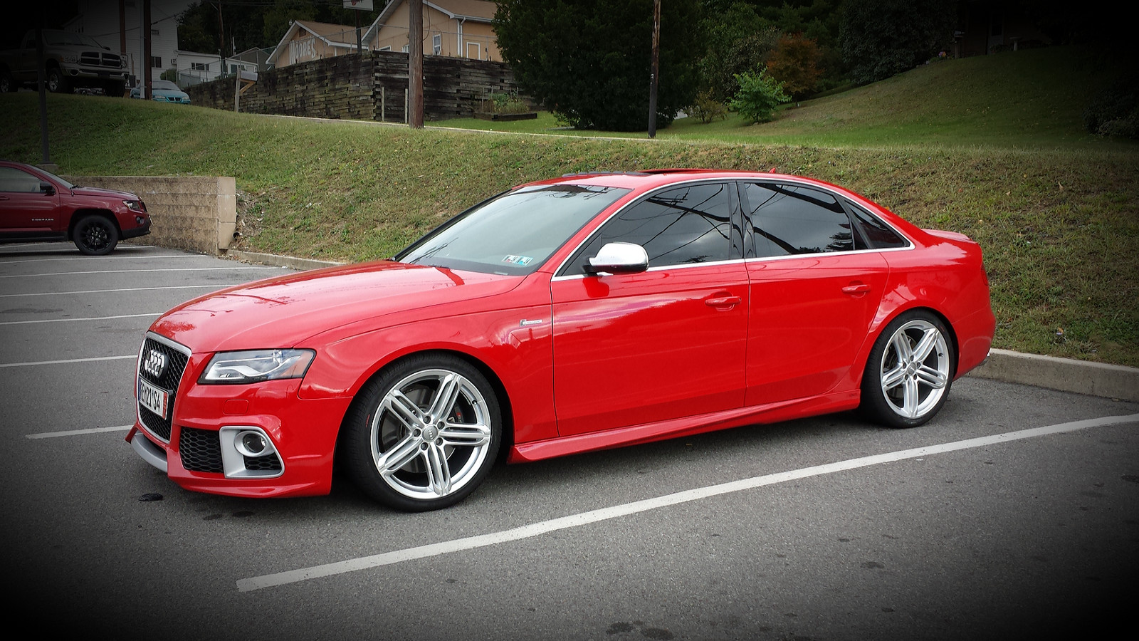 2011 brilliant red Audi S4  picture, mods, upgrades
