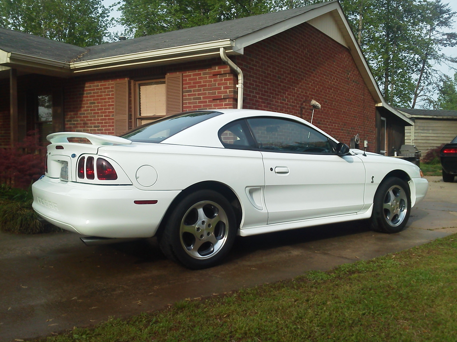 White 1997 Ford Mustang Cobra