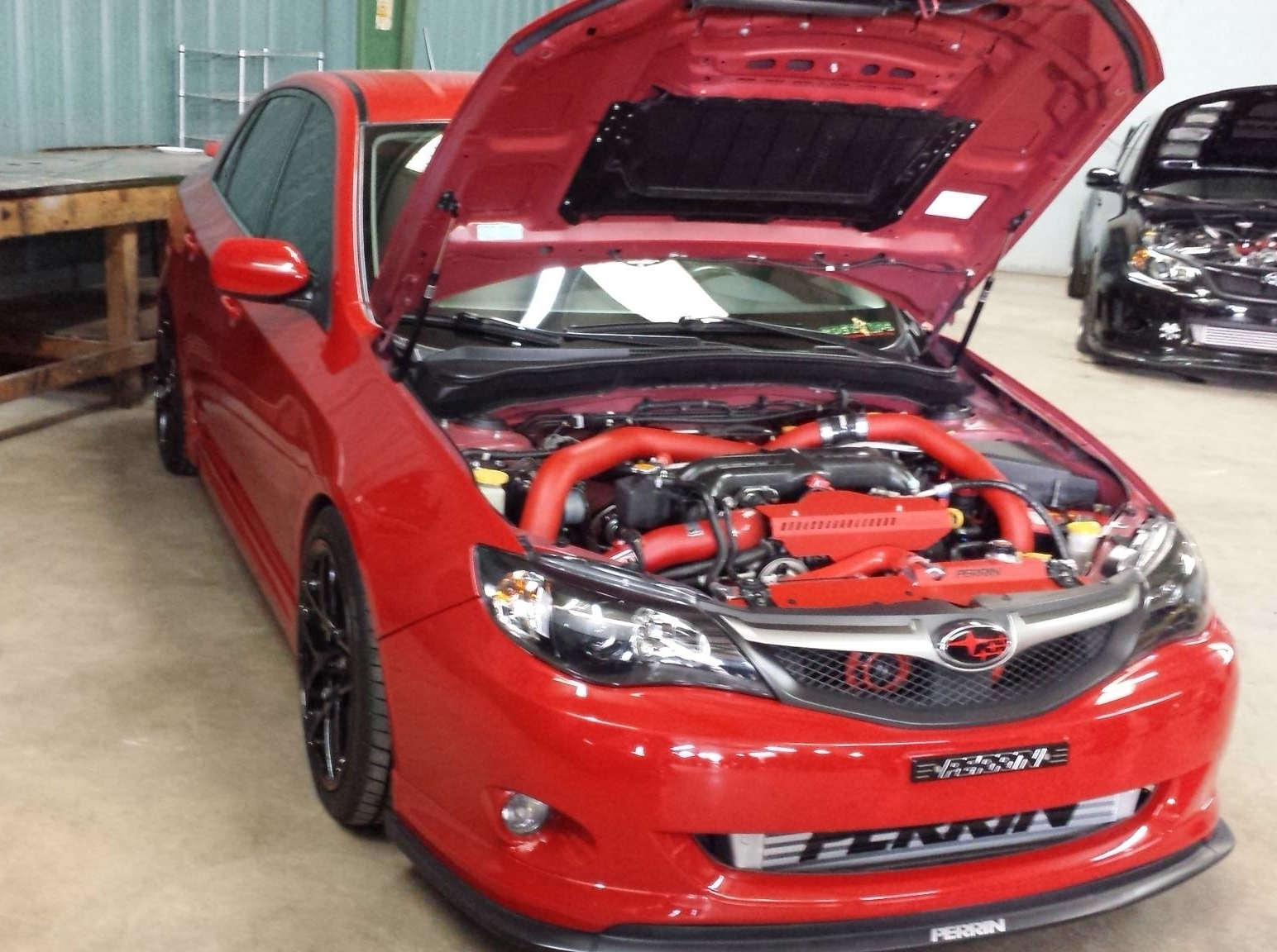2009 Red Subaru Impreza Wrx Pictures Mods Upgrades