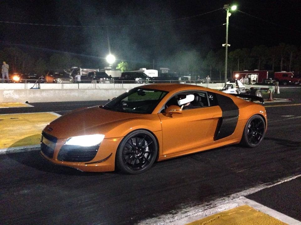 Samoa Orange 2011 Audi R8 V10 Coupe