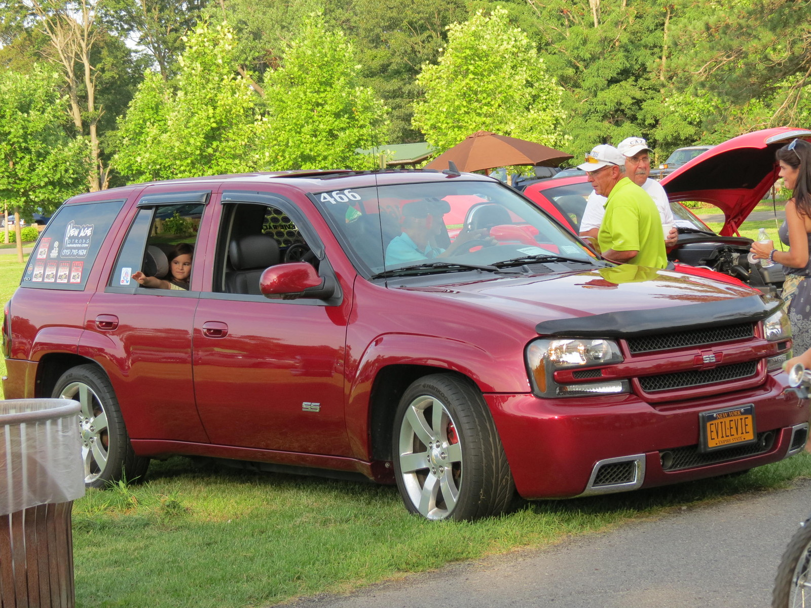 2007 redjewel Chevrolet TrailBlazer awd ss picture, mods, upgrades