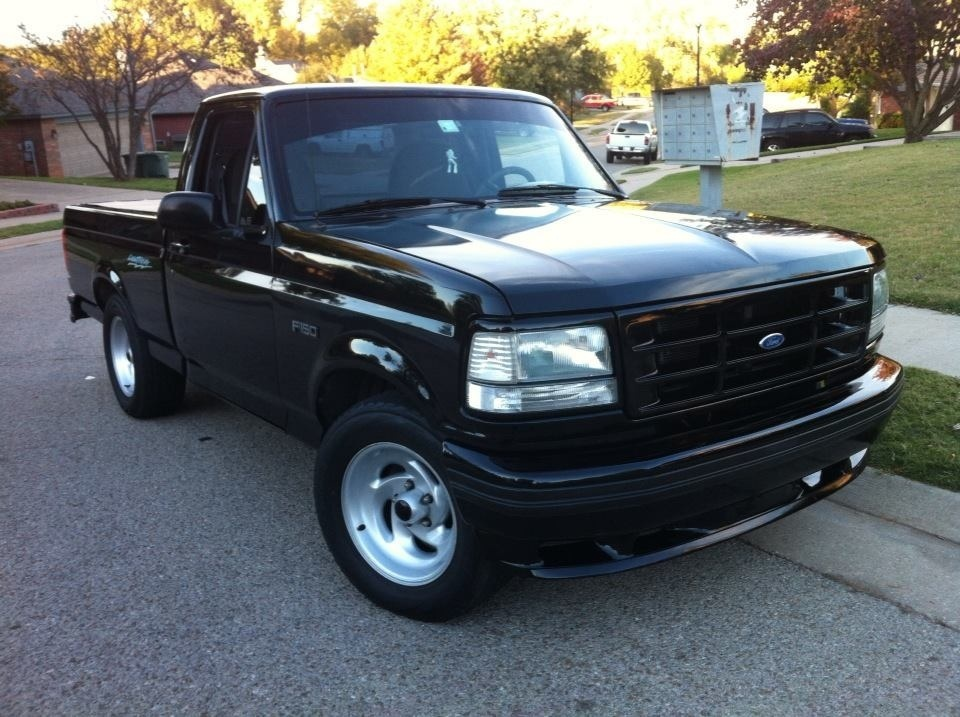 Ebony 1994 Ford F150 Lightning