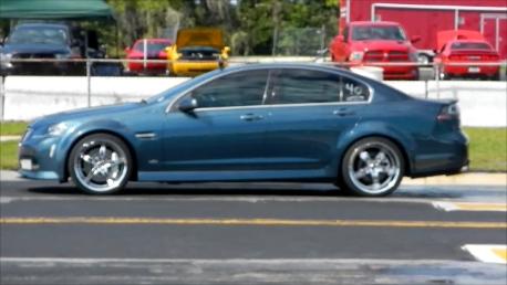 2009 Pacific Slate Metallic Pontiac G8 Gt Pictures Mods