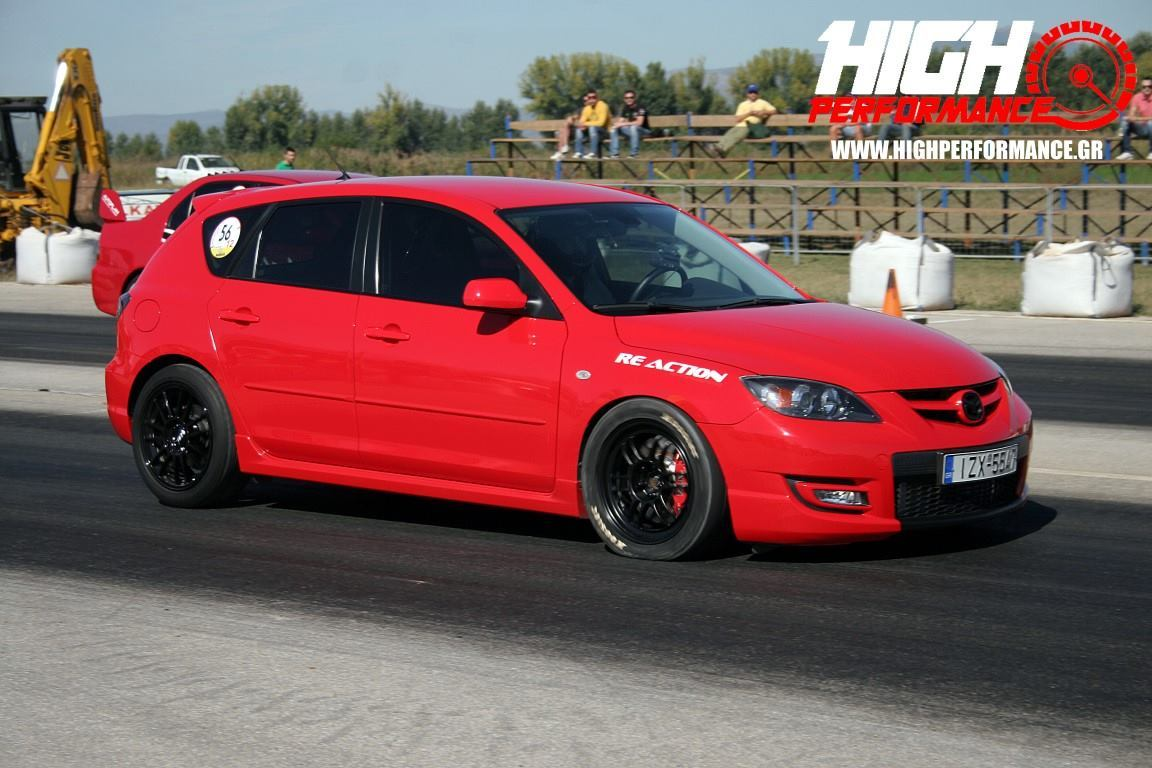 2008 Mazda 3 MPS 1/4 mile trap speeds 0-60 - DragTimes.com