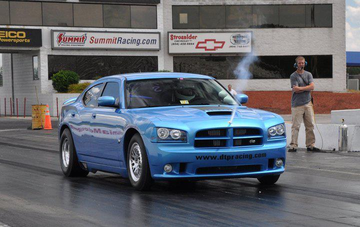 B5 Blue 2008 Dodge Charger SuperBee
