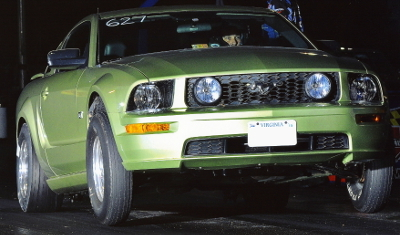 Legend Lime 2005 Ford Mustang GT