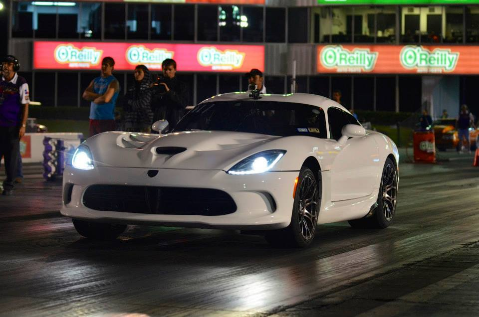 White 2013 Dodge Viper SRT