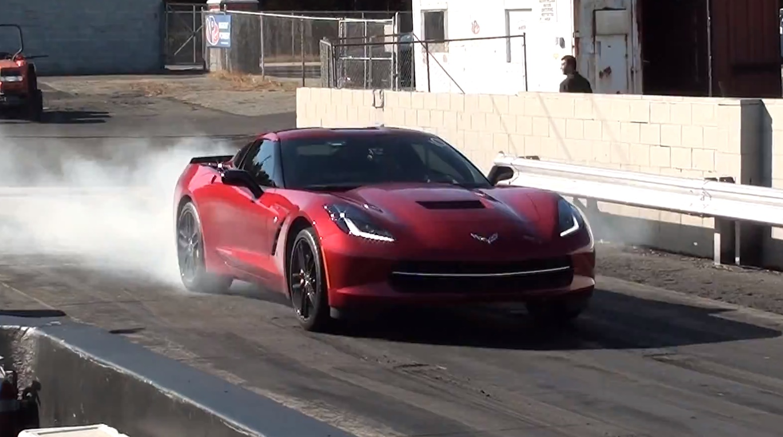 Stock 2017 Chevrolet Corvette Stingray C7 Automatic Runs 11 6 119 Mph In The 1 4 Mile