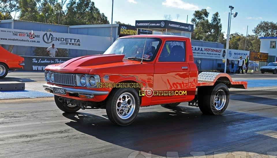 Orange 1972 Chevrolet Luv